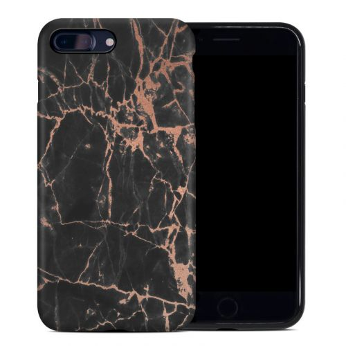 Rose Quartz Marble iPhone 8 Plus Hybrid Case