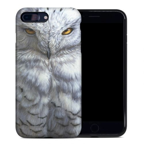Snowy Owl iPhone 8 Plus Hybrid Case