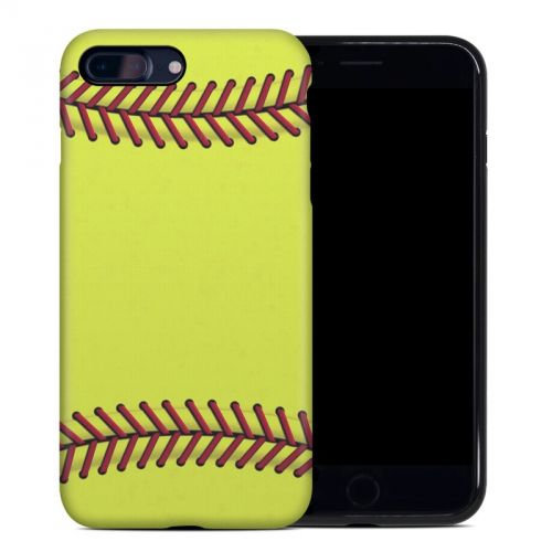 Softball iPhone 8 Plus Hybrid Case