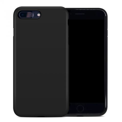 Solid State Black iPhone 8 Plus Hybrid Case