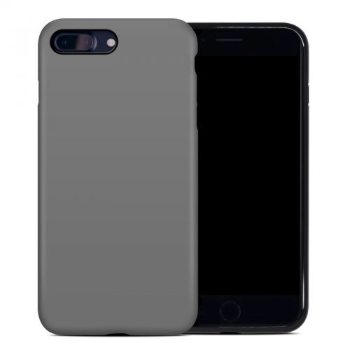 Solid State Grey iPhone 7 Plus Hybrid Case