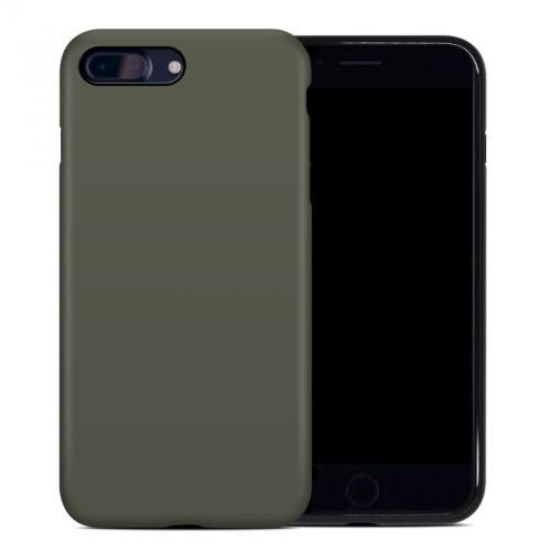 Solid State Olive Drab iPhone 8 Plus Hybrid Case