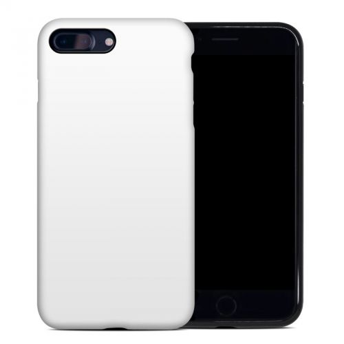 Solid State White iPhone 8 Plus Hybrid Case