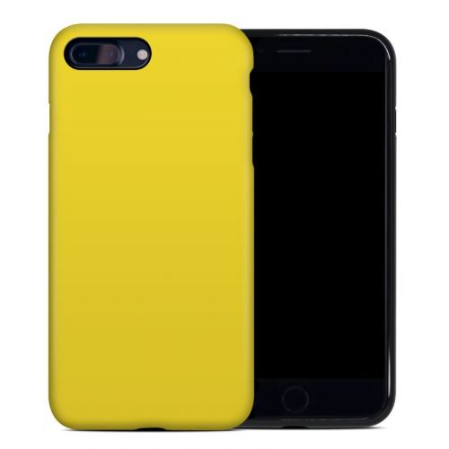 Solid State Yellow iPhone 8 Plus Hybrid Case