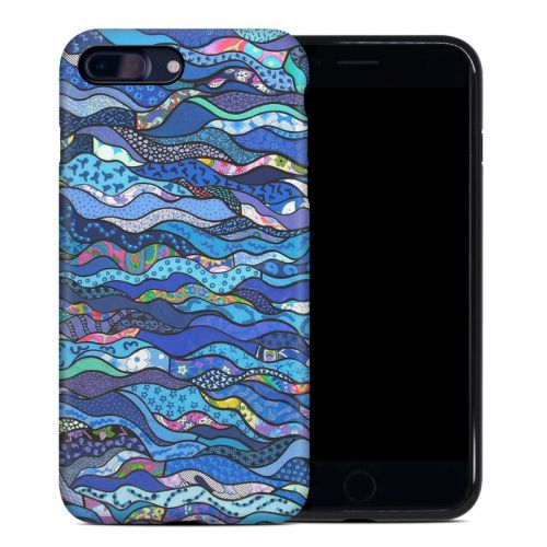 The Blues iPhone 7 Plus Hybrid Case
