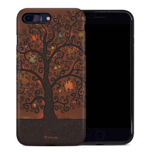Tree Of Books iPhone 8 Plus Hybrid Case