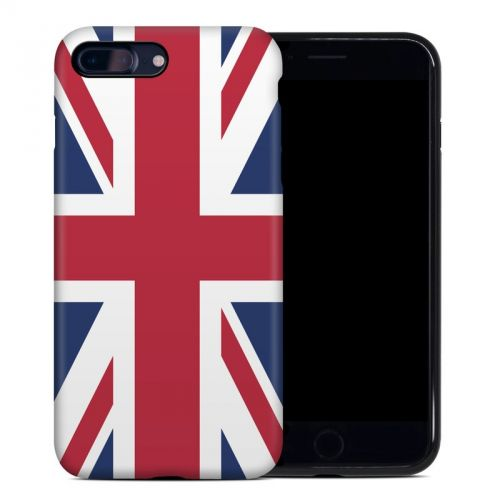 Union Jack iPhone 8 Plus Hybrid Case