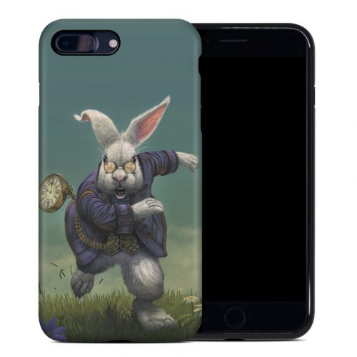 White Rabbit iPhone 8 Plus Hybrid Case