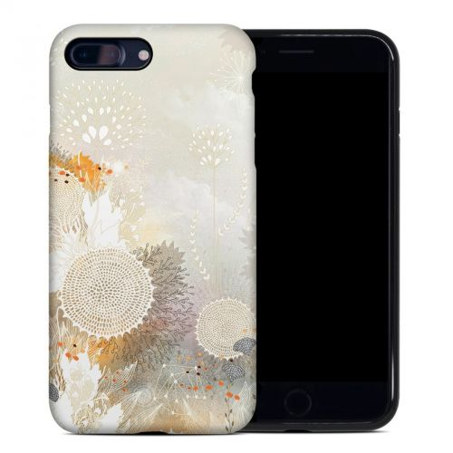 White Velvet iPhone 7 Plus Hybrid Case