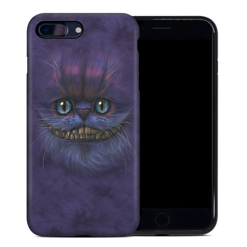 Cheshire Grin iPhone 8 Plus Hybrid Case
