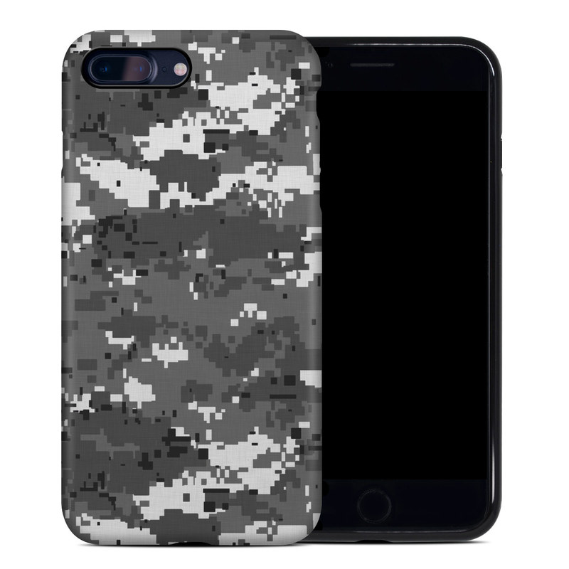 Digital Urban Camo iPhone 8 Plus Hybrid Case