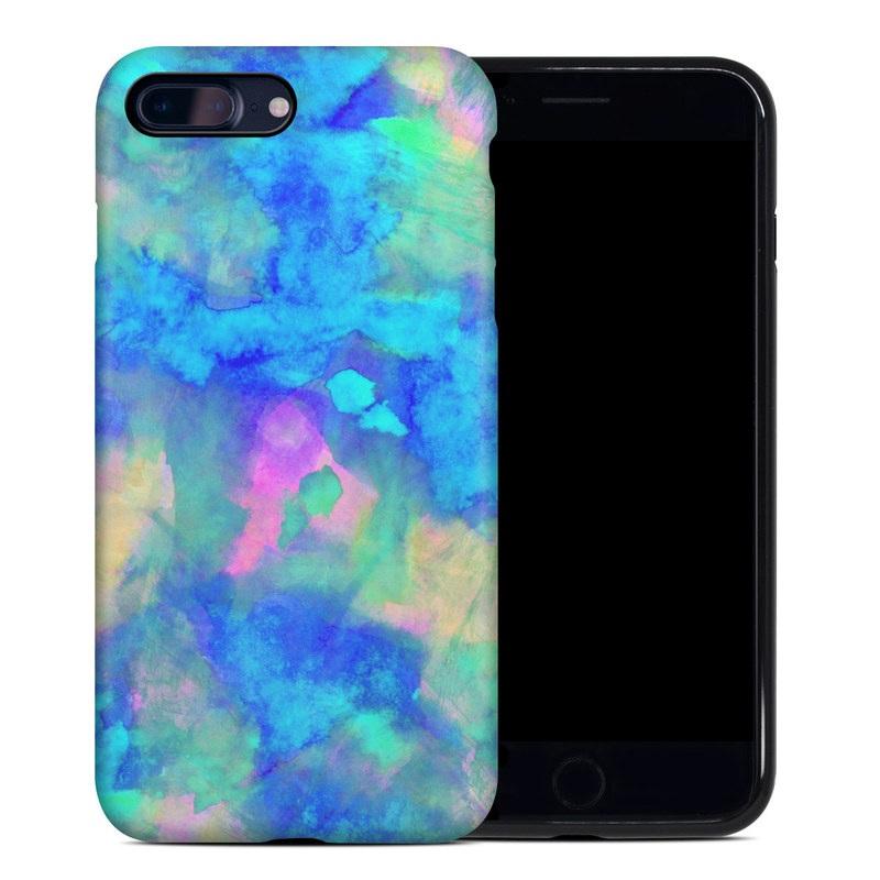 Electrify Ice Blue iPhone 8 Plus Hybrid Case