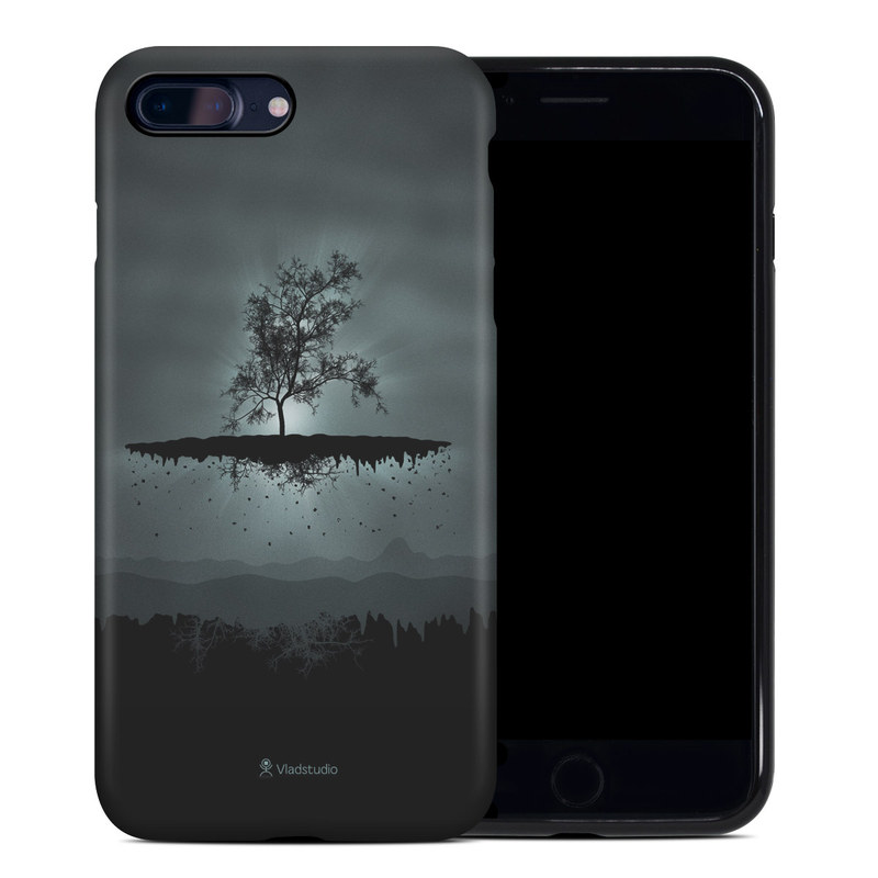 Flying Tree Black iPhone 8 Plus Hybrid Case