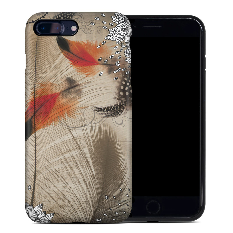 Feather Dance iPhone 8 Plus Hybrid Case