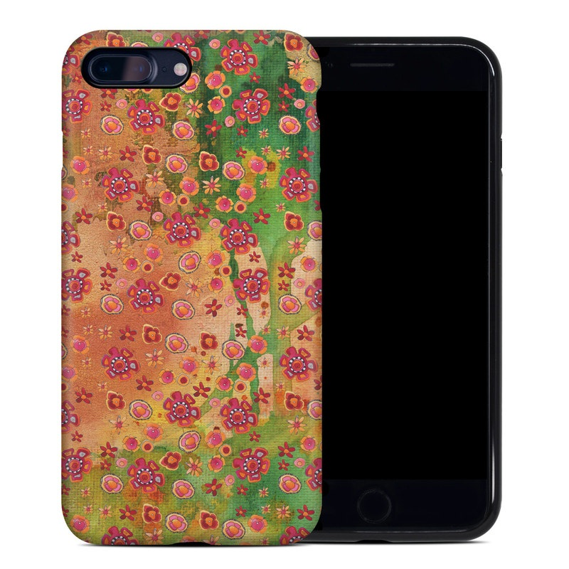 Garden Flowers iPhone 8 Plus Hybrid Case