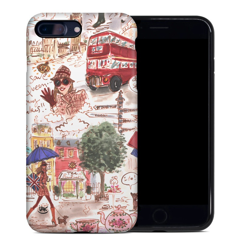 London iPhone 8 Plus Hybrid Case