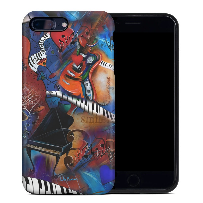 Music Madness iPhone 8 Plus Hybrid Case
