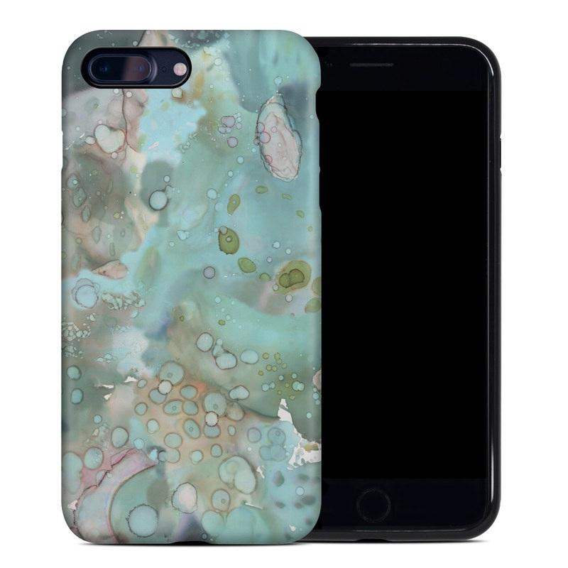 Organic In Blue iPhone 7 Plus Hybrid Case