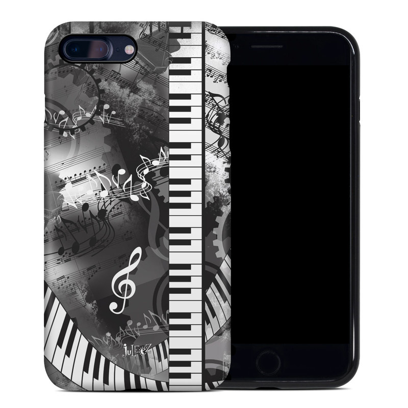 Piano Pizazz iPhone 8 Plus Hybrid Case
