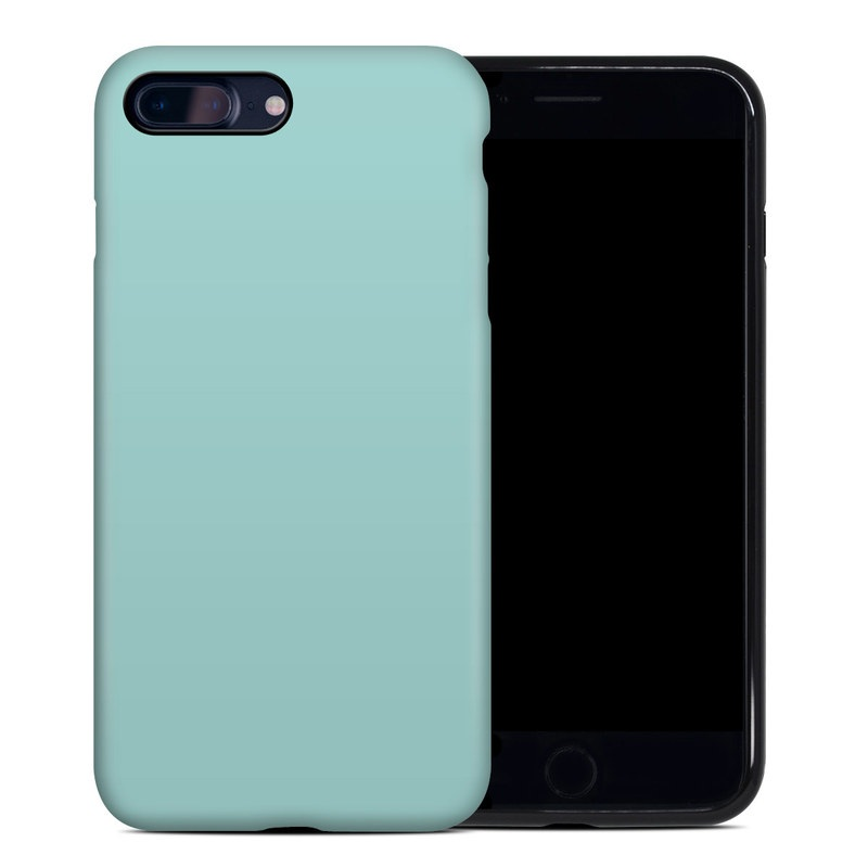 iPhone 8 Plus Hybrid Case design of Green, Blue, Aqua, Turquoise, Teal, Azure, Text, Daytime, Yellow, Sky with blue colors