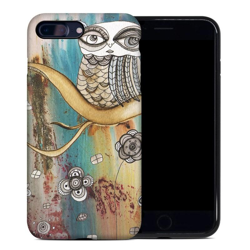 Surreal Owl iPhone 8 Plus Hybrid Case