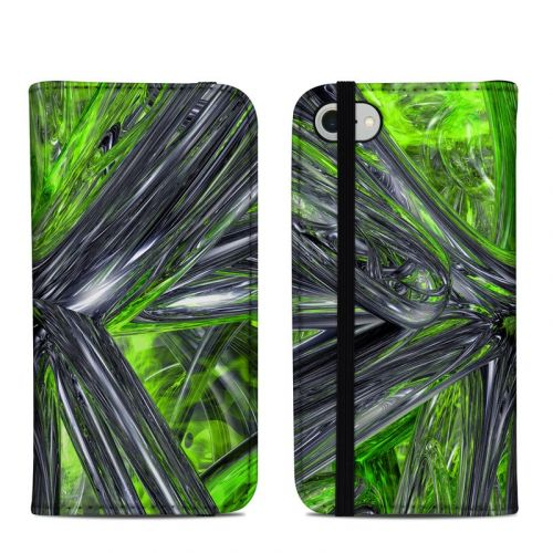 Emerald Abstract iPhone 8 Folio Case