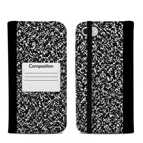 Composition Notebook iPhone 8 Folio Case