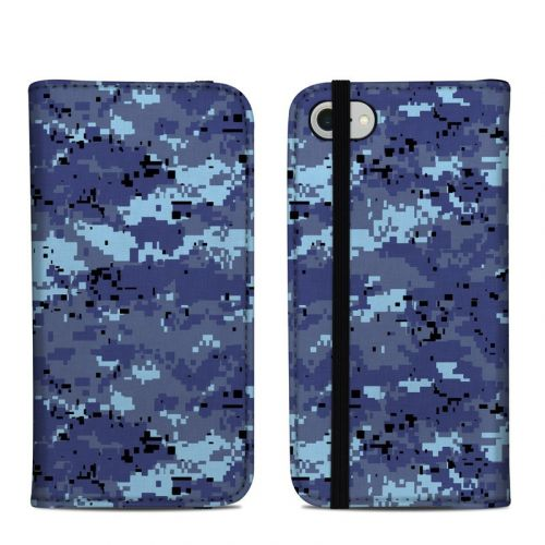 Digital Sky Camo iPhone 8 Folio Case