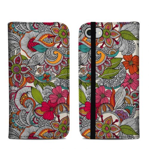 Doodles Color iPhone 8 Folio Case