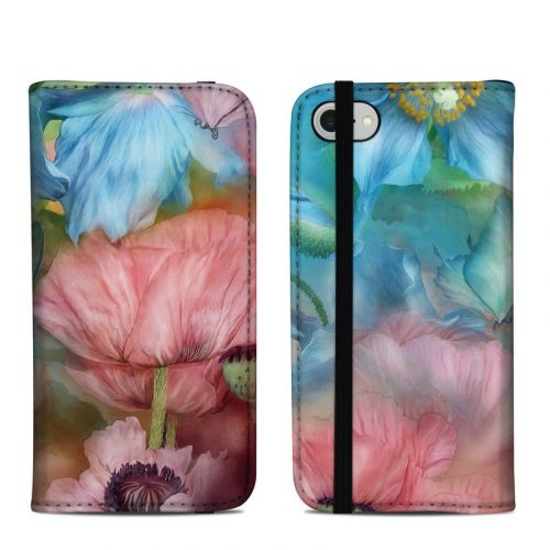 Poppy Garden iPhone 8 Folio Case