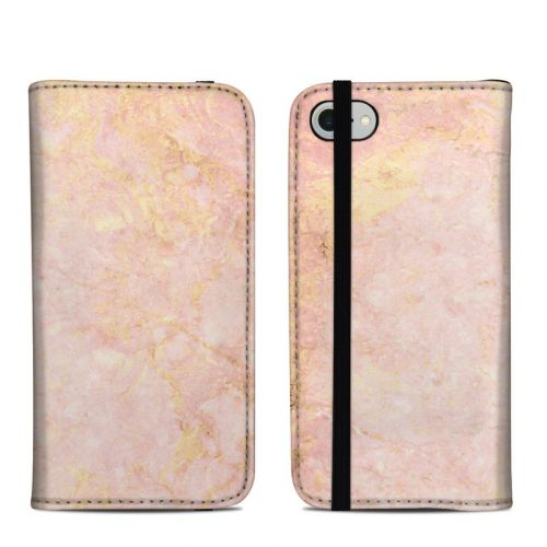 Rose Gold Marble iPhone 8 Folio Case