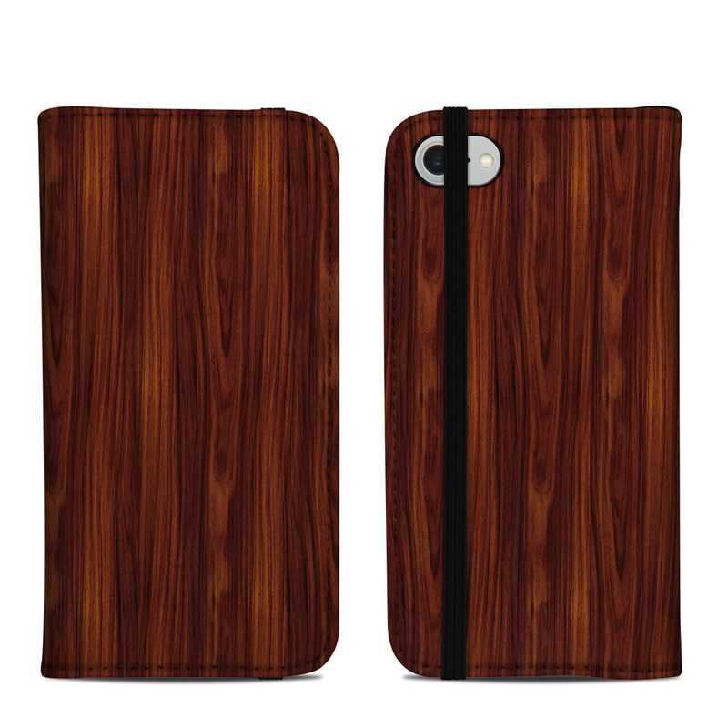 iPhone 8 Folio Case design of Wood, Red, Brown, Hardwood, Wood flooring, Wood stain, Caramel color, Laminate flooring, Flooring, Varnish with black, red colors