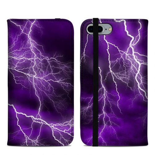 Apocalypse Violet iPhone 8 Plus Folio Case