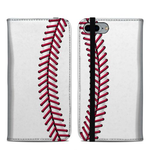 Baseball iPhone 8 Plus Folio Case