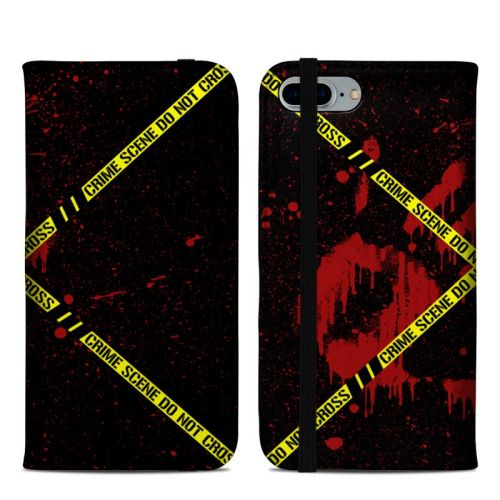 Crime Scene iPhone 8 Plus Folio Case