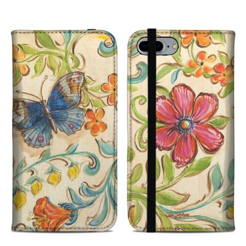 Garden Scroll iPhone 8 Plus Folio Case