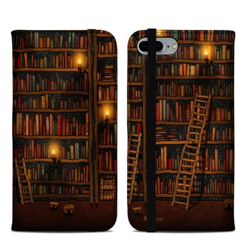 Library iPhone 8 Plus Folio Case