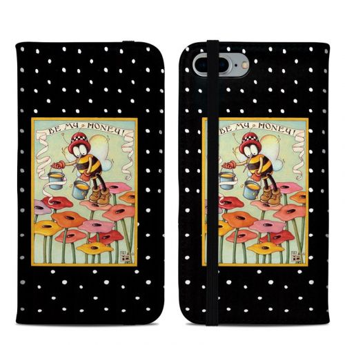 Be My Honey iPhone 8 Plus Folio Case