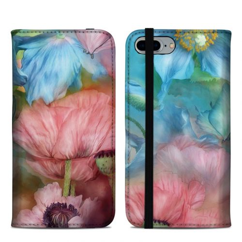 Poppy Garden iPhone 8 Plus Folio Case