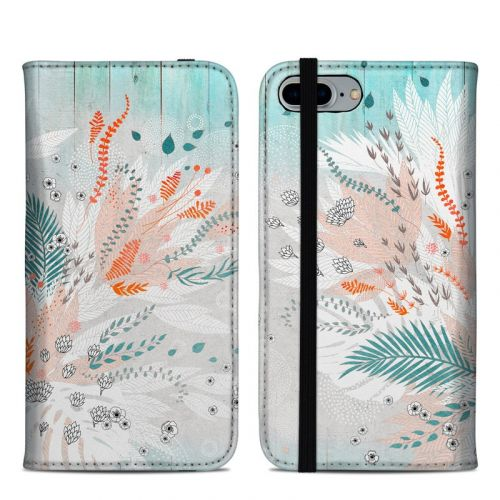 Tropical Fern iPhone 8 Plus Folio Case