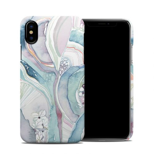 Abstract Organic iPhone X Clip Case