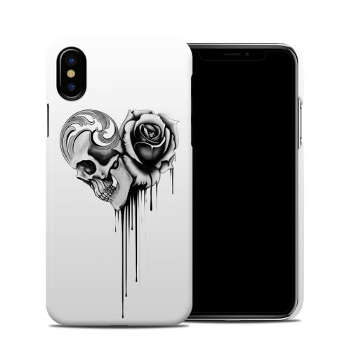 Amour Noir iPhone XS Clip Case