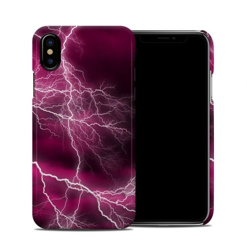Apocalypse Pink iPhone X Clip Case