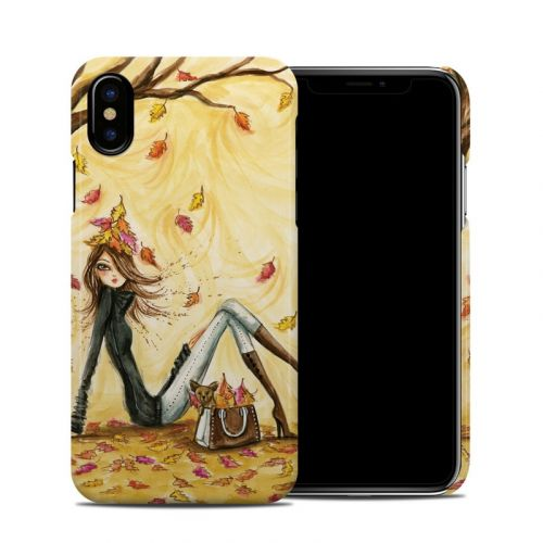 Autumn Leaves iPhone X Clip Case