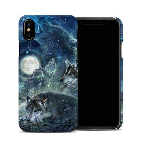 Bark At The Moon iPhone X Clip Case