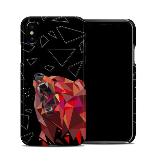Bears Hate Math iPhone XS Clip Case