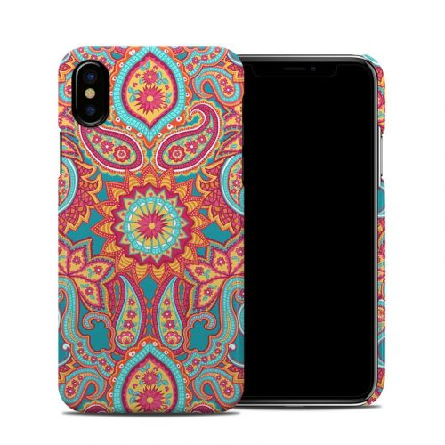 Carnival Paisley iPhone X Clip Case