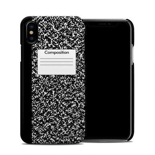 Composition Notebook iPhone XS Clip Case
