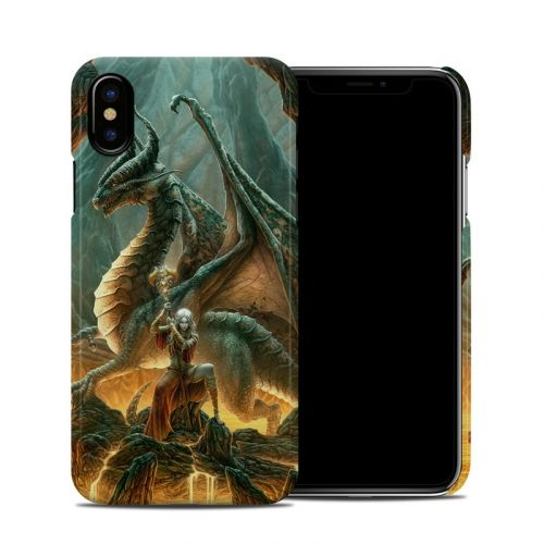 Dragon Mage iPhone X Clip Case