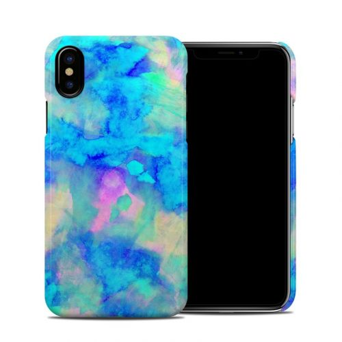 Electrify Ice Blue iPhone XS Clip Case